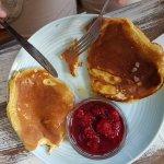 Pancakes, mid-nosh