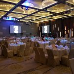Wedding dinner in Ballroom