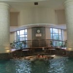 Indoor pool on the 2nd floor