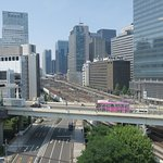 View of main Tokyo lines from room