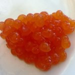 Caviar? No, passion fruit jelly at breakfast buffet