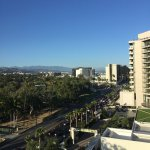 Views from our Suite on 6th floor facing Wilshire Blvd., were outstanding!