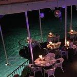 Restaurant floor and view