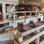 Fish processing line