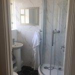 Executive Double bathroom with broken shower