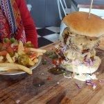 Natcho Libre burger