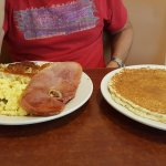 The staff is very freindly and the service is wonderful. Portions are huge. Breakfast is delicio