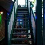 L'escalier menant à la chambre