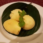 Durian Seed with Durian Ice-Cream