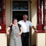 Our fantastic landlady and landlord - Ros & Trevor