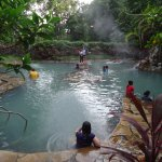 The hot sulfur dipping pool
