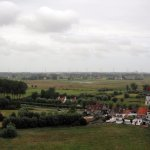 A view from the church overlooking Damme
