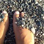 taille du gravier de la plage