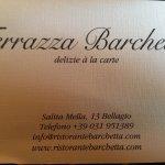 Photo de Ristorante Terrazza Barchetta