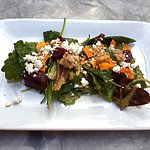 Tasty and colorful beet salad