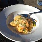 Tasty crab gnocchi (split portion)