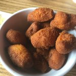 Clam dinner and great hush puppies.