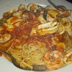 linguine with shrimp and calamari