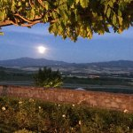 Moon rising from Mt Amiata