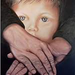 """The Embrace""  Oil on Canvas by Bill Lewochko"