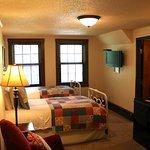 Room 304 has twin beds