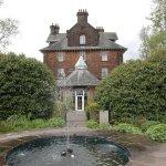 The fountain and terrace garden