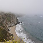 view from the side pull-off at Bixby Bridge - June 2017