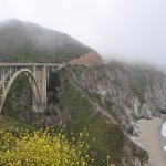 Bixby Bridge view from car pull-off area - June 2017