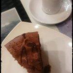 un expreso para acompañar la famosa torta de mousse de chocolate. El combo divino!