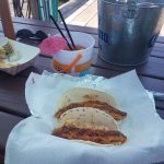 Fish Tacos and drinks