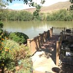 Deck over the Rio Grande River