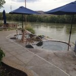 Soaking tubs by the Rio Grande