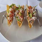 King Crab Ceviche Tacos