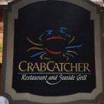 Crab Catcher Restaurant Sign
