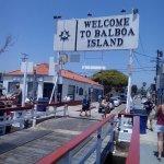 Balboa Island Ferry Bridge