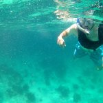 First time snorkeling.