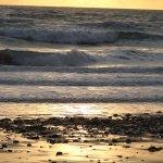 Sunset at Widemouth Bay