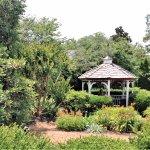 Beautiful gardens and gazebo