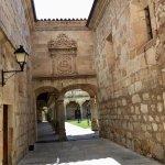 Lovely courtyard of Las Escuelas Menores