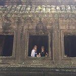 back entrance of Angkor Wat