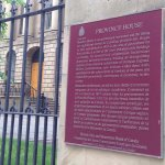Plaque outside of Province House
