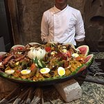 paella prepared at Villas Sol