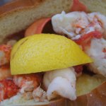 lobster roll, chaud