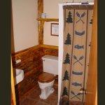 Moose Antler bathroom