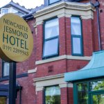 Newcastle Jesmond Hotel Sign board