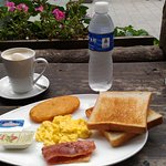 Breakfast - I shall order an extra serving of bacon if there is a next time!