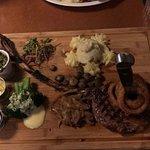 Oh yeah, Tomahawk steak...