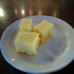 Gooey butter cake. Yum!