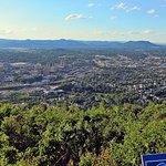 View of downtown Roanoke from Star overlook