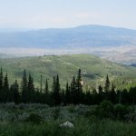 View Towards Park City, Guardsman Pass Scenic Backway, Park City, Utah
